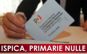 primarie pd nulle Ispica